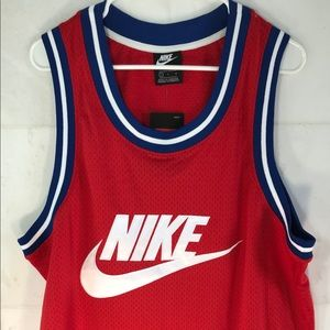 Nike Statement Mesh Tank Jersey Red AR9892-657